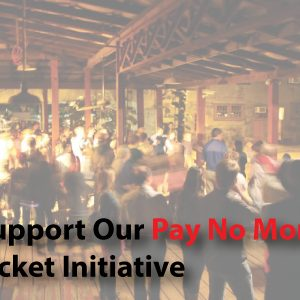 Support Our Pay No More Ticket Initiative - 7 Stages