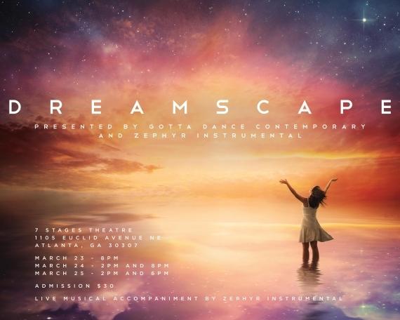 Gotta Dance Contemporary and Zephyr Instrumental present DREAMSCAPE
