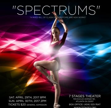 International City School of Ballet Presents: Spectrums
