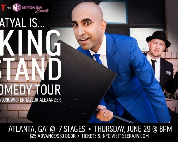 Dj Ameet & Nirvana Events present: Rajiv Satyal is…Taking a Stand 2017 Comedy Tour