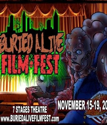 The 12th annual Buried Alive Film Festival