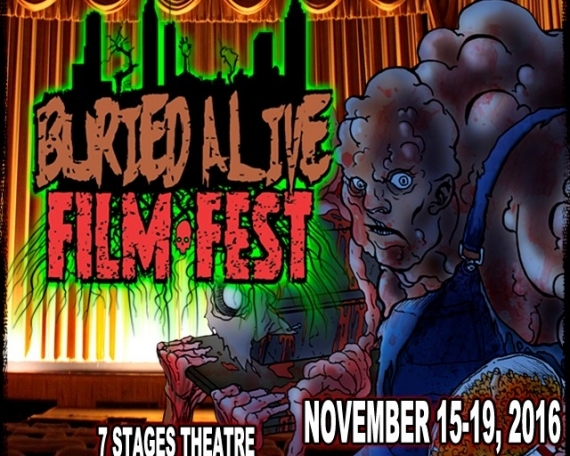 The 12th annual Buried Alive Film Festival