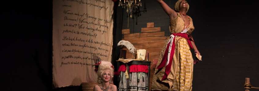 """AJC calls The Revolutionists """"Ingeniously conceived and delivered!"""""""